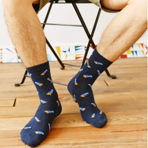 2015 autumn winters new sock rocket cotton jacquard unisex socks