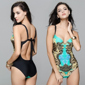 sexy charming floral Beach women bikni swimwear swimsuit