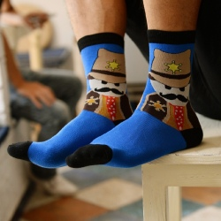 personatity cartton figure Korea cotton sock wholesale
