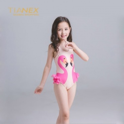 high quality cartoon girl swimwear