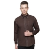 men long sleeve coffee shirt