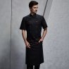 split black apron