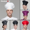classic fashion mushroom style restaurant kitchen chef hat