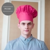 unisex rose chef hat