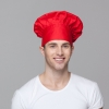 unisex red chef hat