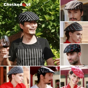 unisex classic beret hat for waiter or chef