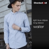 long sleeve light blue shirt for men