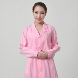 long sleeve fashion design nurse coat uniform