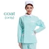 light green(white collar) nurse coat