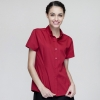 short sleeve red waitress shirt