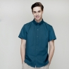 short sleeve blackish green waiter shirt