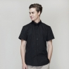 short sleeve black waiter shirt