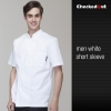 short sleeve white men design