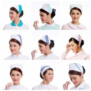 2015 fashion high quality nurse hat cap,multi designs