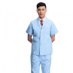 2015 short sleeve summer man nurse doctor coat discount