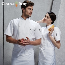 fashion Asian restaurant food kitchen chef jacket uniform