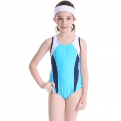 high quality child girl swimwear swimming training suit