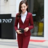 fashion pant suit women business work suits uniforms lady suits