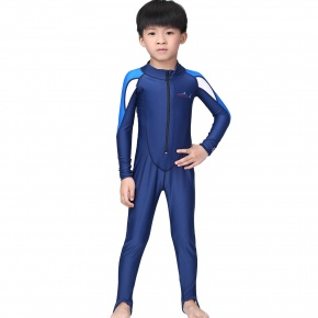 fashion children one-piece wet suits swimwear for boy or girl