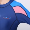 2018 new design men two piece wet suits swimwear fast dry
