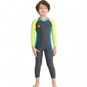 children long sleeve dive sail wetsuits swimwear