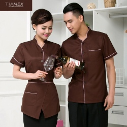 restaurant Casino KTV waiter waitress uniform shirt jacket discount