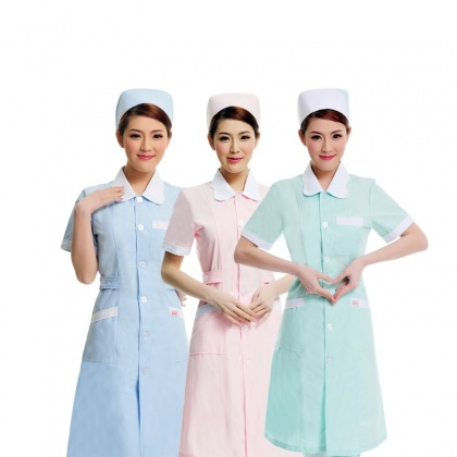 summer short sleeve nurse suit drugstore hospital uniform JX-10