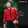 men long sleeve red shirt