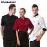 professional design double breasted coat uniform restaurant men women chef