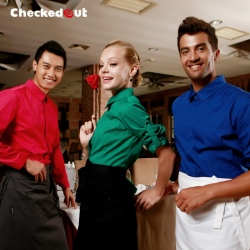 high quality candy restaurant waitress waiter uniform