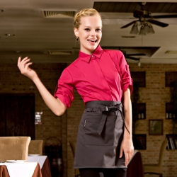 high quality candy restaurant waitress women waiter uniform shirt