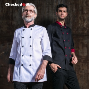 hot sale spring high quality cheap chef jacket chef coat uniform