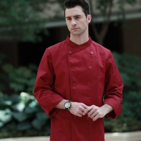 fall fashion upgraded quality restaurant dish KFC fast food chef jacket coat