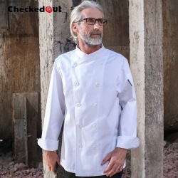 Europe double breasted fashion restaurant chef master coat uniforms