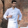 autumn winter men restaurant chef jacket chef work wear uniforms black color