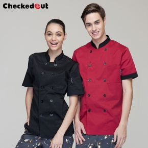 checkedout summer designs chef coat uniform jacket wholesale