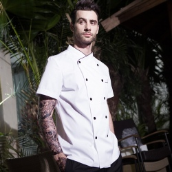 fashion France restaurant chef coat uniform jacket wholesale