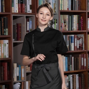 2018 new design Western restaurant women chef jacket chef coat uniform