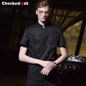 2018 new design upgrade sushi restaurant chef jacket chef coat uniform