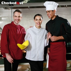 fashion American restaurant staff chef jacket chef coat uniform