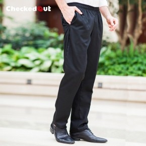 fashion casual elastic restaurant chef pant trousers uniform
