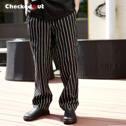 upgrade stripes restaurant chef pant chef trousers uniform