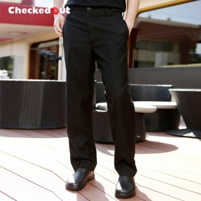 autumn winter black restaurant chef pant chef trousers uniform