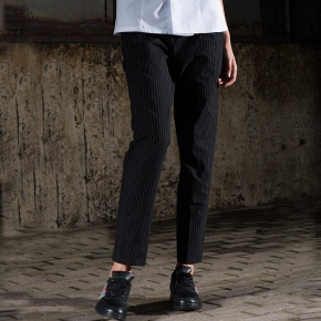 stripes restaurant men women chef pant trousers uniform