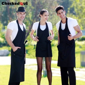 fashion design housekeeping apron restaurant waiter chef work apron
