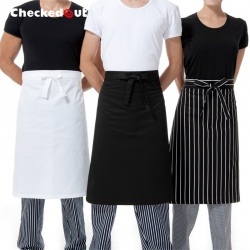 Knee length restaurant cafe bar wait staff apron chef apron