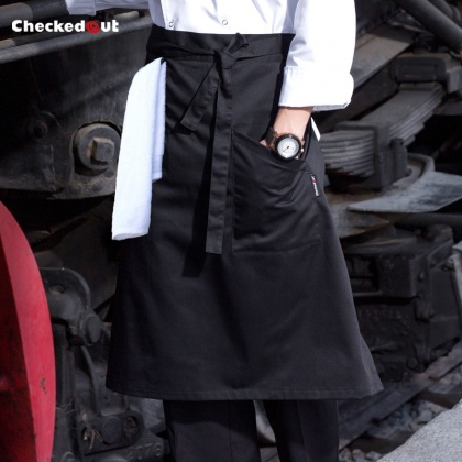 upgrade restaurant cafe bar wait staff apron chef short apron