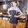 fashion halter restaurant denim chef apron waiter apron