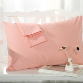 candy color high quality cotton pillowcase multi color pillow cover