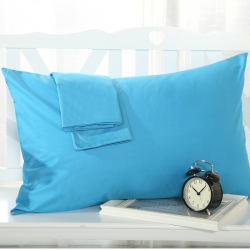cotton fabric comfortable pillowcase 20 colors 48 x 74 cm
